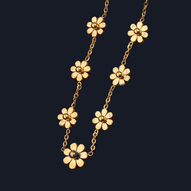 ELLE Accessoires Weier vêtements pour femmes chaîne en acier inoxydable cru chocker meilleurs amis colliers pendentifs bijoux bijoux