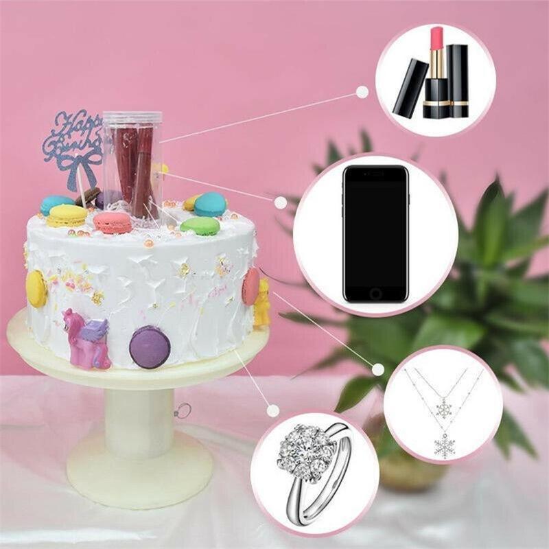 Doğum Günü Pastası Parti Oyuncaklar Sürpriz Standı Pop Sürpriz Hediye Kutusu Ile Sihirli Kek Ayakta Serin Komik Oyuncak Çocuk Doğum Günü Hediyeleri Y200428