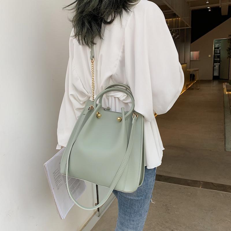 Moda Nuevo 2021 Bolsas de diseño de cuero PU Mujeres principales Crossbody para bolsas de hombro SAC Mujeres Un bolso QtaTa Hetuq