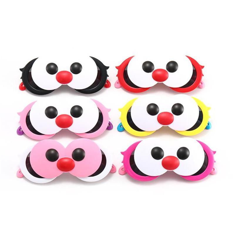 Moda niños gafas de sol de dibujos animados gafas de sol flip gafas anti-uv gafas gafas bebé ojo grandes ojos adumbral ornamental a ++