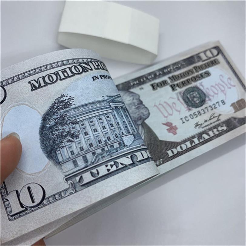 Neqge Fast Paper Валюта Реальные деньги Игрушки Party Copy Волшебные подарки Детский Дизайн Показать нам Игра Доставка T8 ROPS MAHHHQ