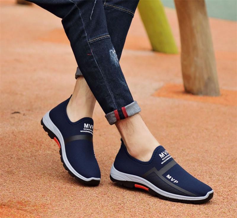 Alta calidad 2019 zapatos de papá mejor vendidos transpirable Casual Suave Inferior Dos tonos salvajes Zapatos al aire libre Sports Trend Mens S-Shoes