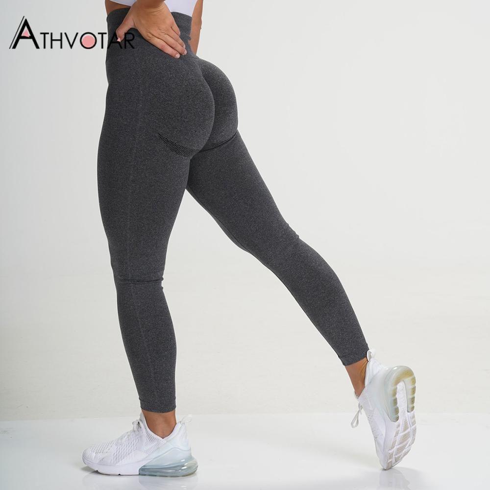 Fitness-Legging Push Up Legging Feminina Hohe Taille Workout Leggins Mujer Neue Fitnessstudio Nahtlose Legins Frauen H1210