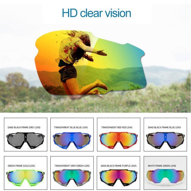 Hombres Bicicletas Lentes polarizadas Lentes Polarizadas Gafas Ciclismo Uv Sports Eyewear UV Protección Ciclismo Gafas de sol Mujer Txtb1 Q1224
