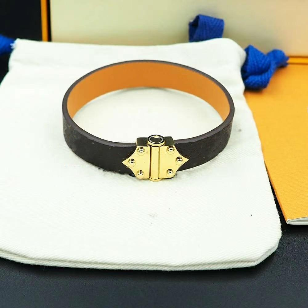 Горячие продажи кожаные браслеты ювелирные изделия для женщин мужчин 316L из нержавеющей стали из нержавеющей стали дизайн браслеты Bangles Pulseiras аксессуары подарки