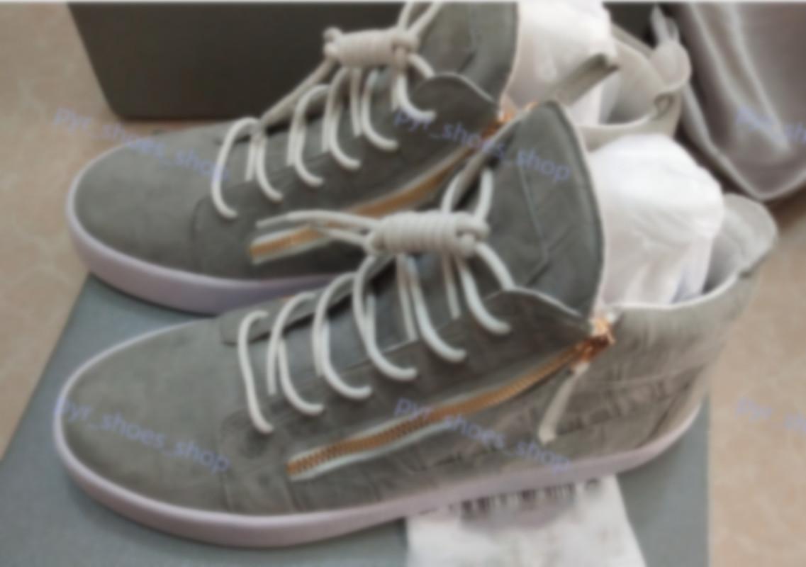 Giuseppe Zanotti GZ 1.1 Zapato para hombre Hombres Trainer Homme Chaussures Arena Carrera Zapatos Runner Retro Sports Zapatos Entrenadores Zapatillas de deporte Tamaño 35-46