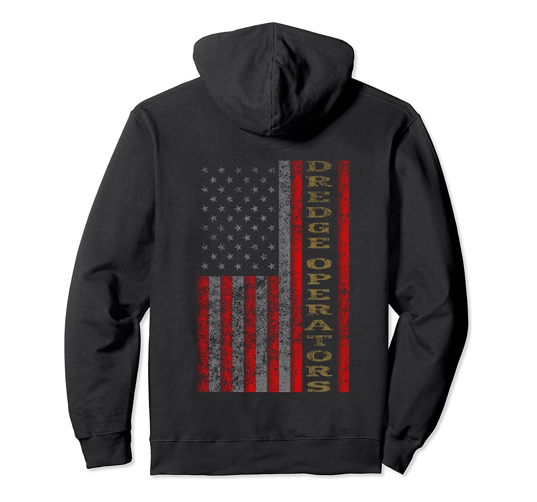 Охладить Отечественную Dredge Операторы США - Флаг США Gift Idea пуловер Толстовка унисекс S-5XL Черный / Серый / Синий / Королевский синий / Dark Heather