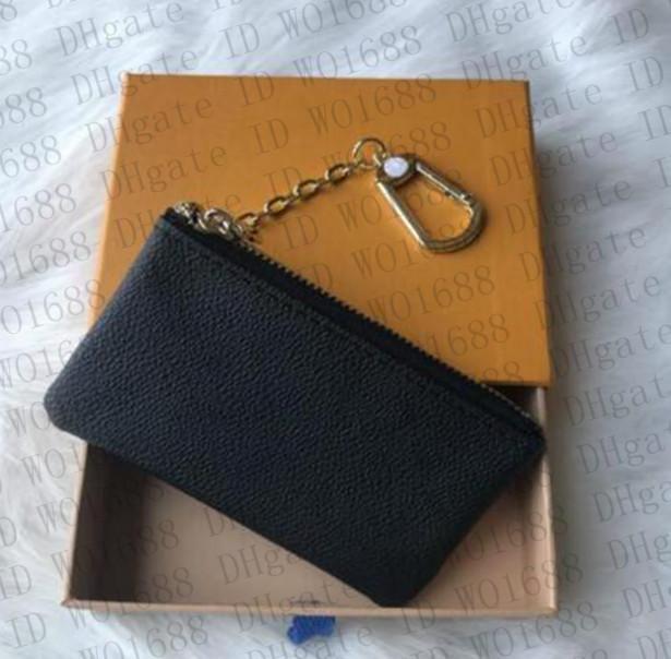 Pochette en cuir VV00 Pochette CLES CLES Sacs à main Mens Femme Porte-clés Clé Clé Designers Card Portefeuille Portefeuille Mode Luxe Coin Coin Coin sac Mini Cred LRUB