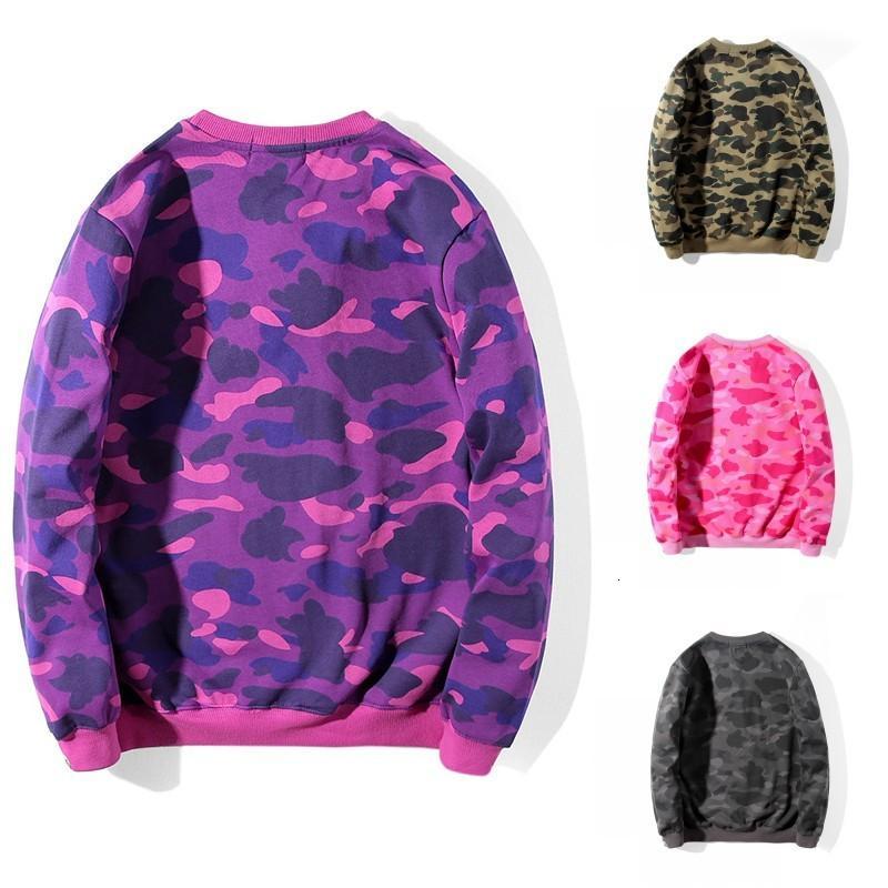 19s Jahre Herren Hoodie Stylist Hoodies Mode Männer Frauen Casual Baumwolle Tarndruck Langarm Winter Pullover Sweatshirts Größe M-2XL