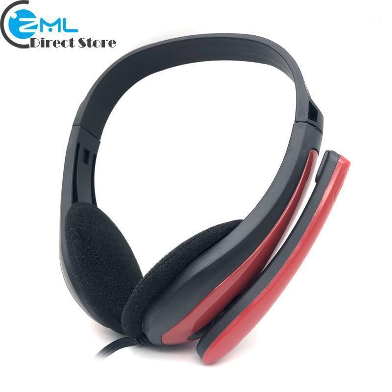 Горячая распродажа EP15M 3.5 мм игровые стерео наушники с микрофоном проводной гарнитуры басных наушников для компьютерного компьютера мобильный телефон MP31