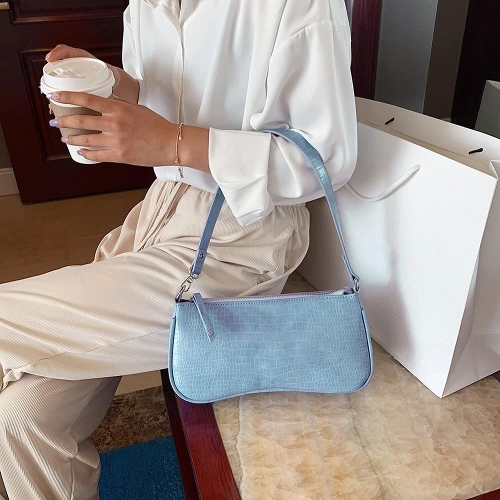 Ins baguette bolsa аллигатор плеча пакеты сумки сумки женщины горячие сумки под ногами женская распродажа для mujer сумки bstka tote 2021 ubwss