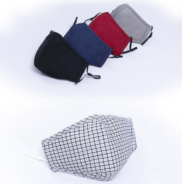 Tasarımcı Yüz Kullanımlık Yıkanabilir Maskeleri Koruyucu Kullanımlık Bireysel Paketi Anti Toz Pamuk Fack Maskesi Stokta