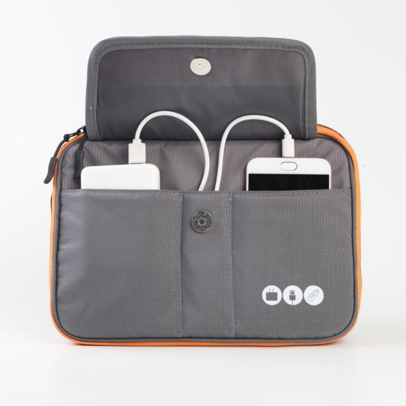 Elektronische Schichten Acoki 2 Hohe Reisegrad Nylon Zubehör Organizer Tasche, Reise Gadget Tragetasche, perfekte Größe Fit Fo