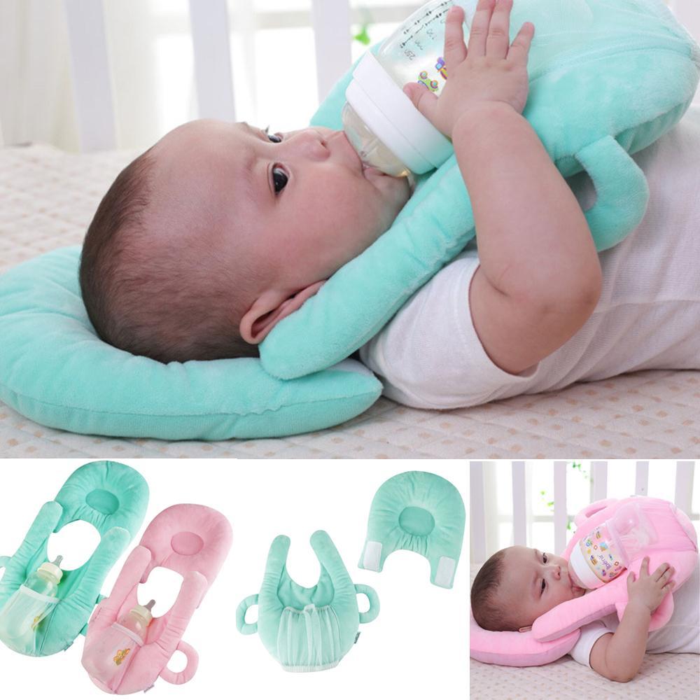 2019 Multifunktionale Baby Bebe Nur stillende Neugeborene Waschbare Antispucksmilchkissenkissen Kissen Säuglingsfüttern Feste Kissen LJ200916