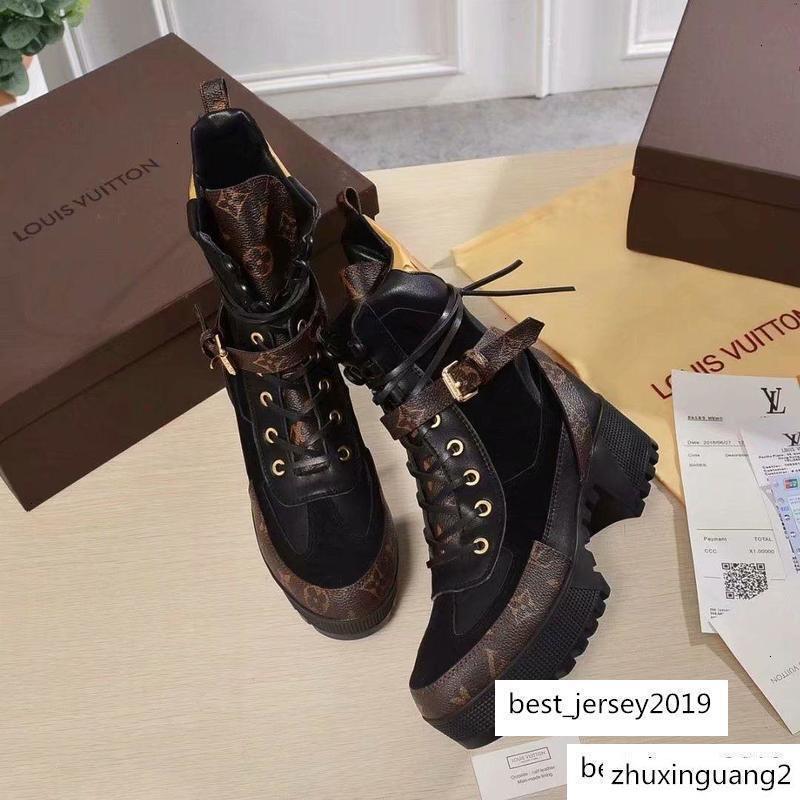 marchio brang Donne Tutti colori escursionismo scarpe di cuoio deserto piattaforma all'ingrosso Winter Snow Boot Outdoor Lavoro Tempo libero Stivaletti 35-42