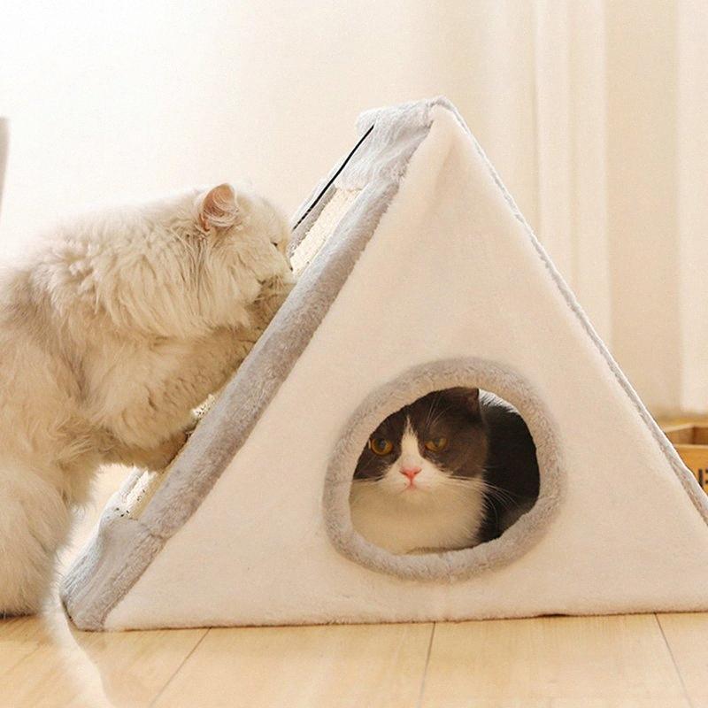 Jormel Cat House Граттаж игрушка Смешной Игра Кровать Для Pet Soft Puppy Supplies Граттажа w7Wu #