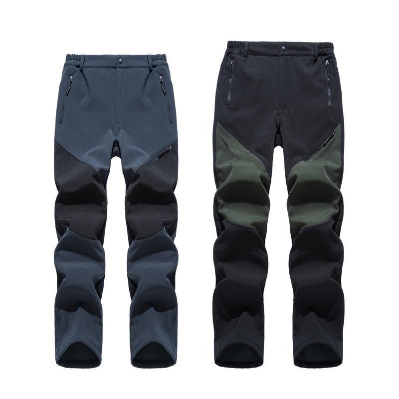 Pantaloni esterni Facecozy Camp Escursioni per gli uomini Casual Winter Autunno Pile Fleece Snow Antivento Impermeabile Pantaloni morbidi traspiranti impermeabili