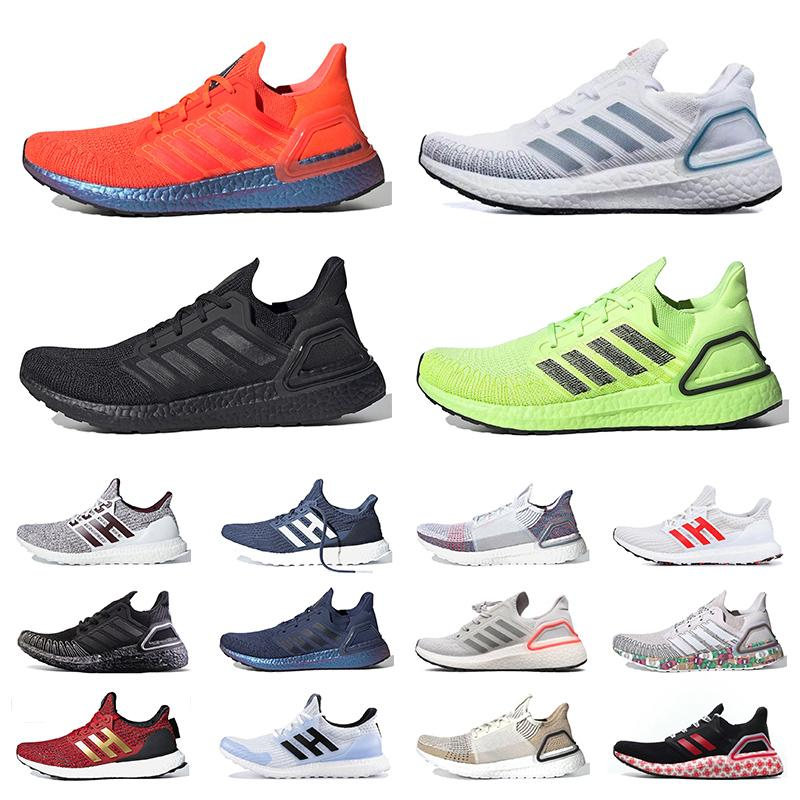 2020 Nuovi adidas ultra boost 2020 Ultraboost 20 Consorzio Shoes Ultra corso UltraBoost 19 Ultraboost Uncaged Oreo Cloud White nero Donne Uomini Sneakers Trainers