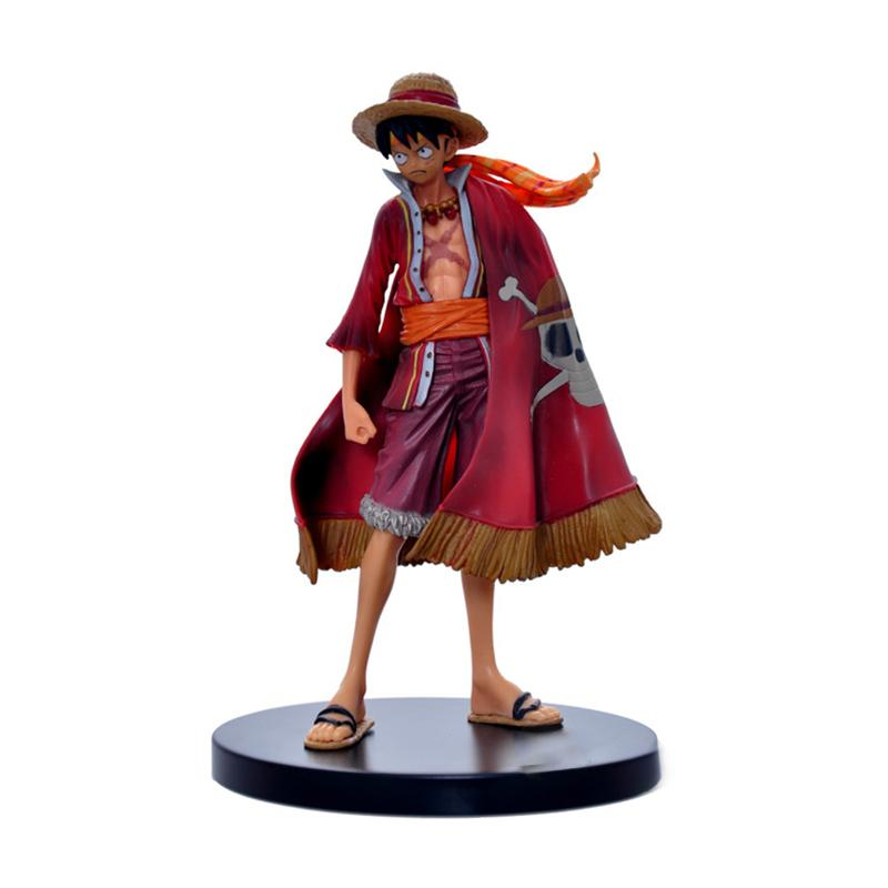Anime One Piece Luffy Theatrical Edition Action Figure Juguetes Tek Parça Rakamlar Tahsil Model Oyuncaklar Noel Oyuncak