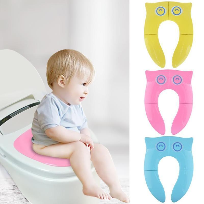 Toilet Training Seat WC Assistant Potty Toilet Pad Kids after Open Applie to Almost all Toilet Eco-friendly for Specifications LJ201110