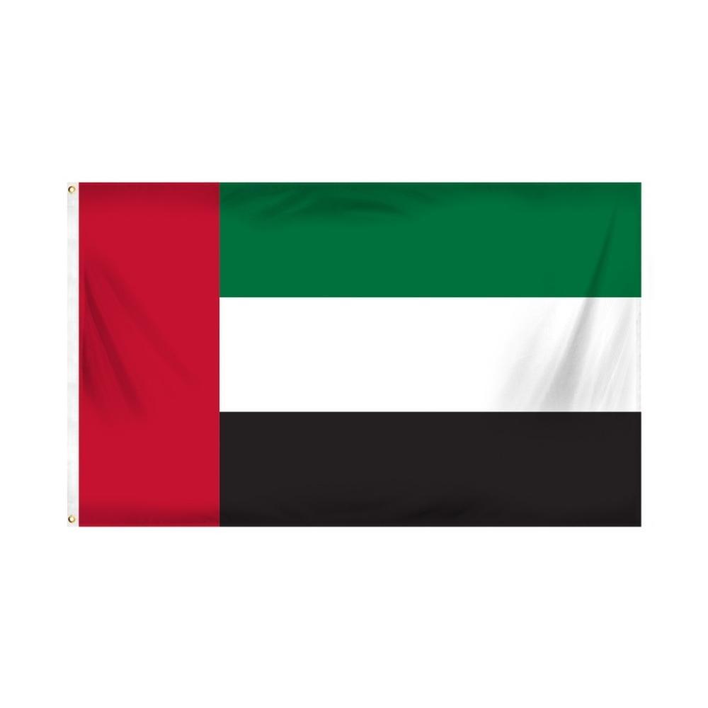 Trasporto libero nelle azione 3x5ft 90x150cm SONO AE Emirati Arabi Uniti Emirati Arabi Uniti Bandiera nazionale per interni ed esterni Banner