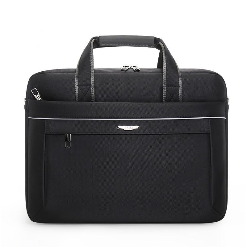 Bolsa de viaje de los hombres de 15,6 pulgadas portátil bolsas de ordenador portátil Concisa de negocios Reunión del trabajo Bolsas hombres de la cartera del hombro del bolso
