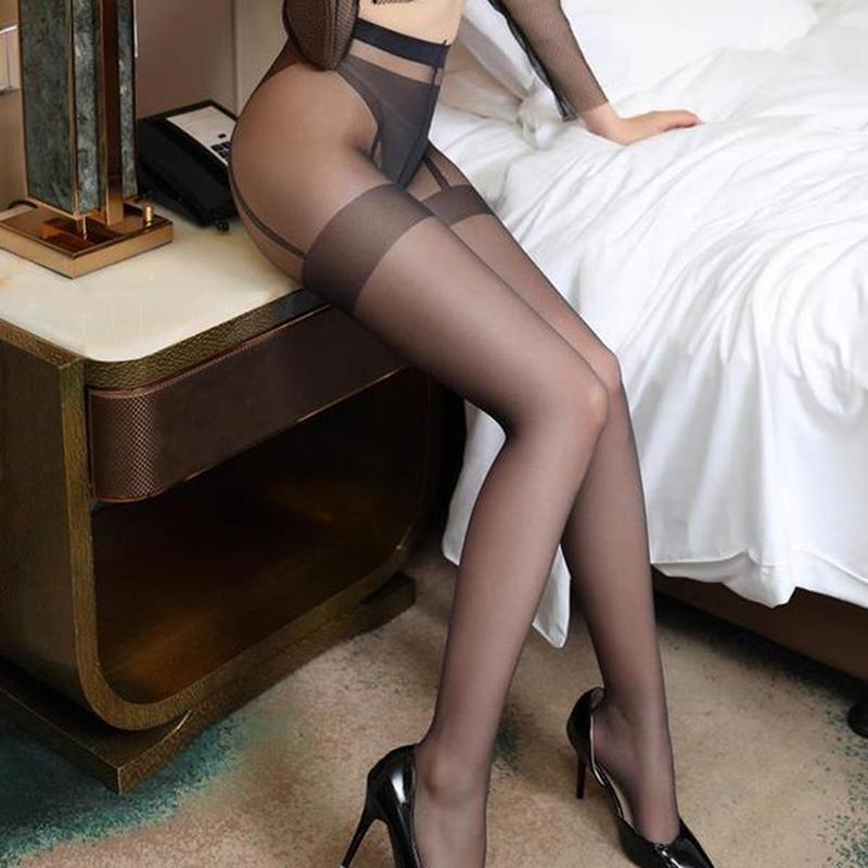 양말 양말 메쉬 나일론 스타킹을 통해 봅니다. 레이디 스타킹 팬티 스타킹 여성 섹시한 lultra thin pantys mujer