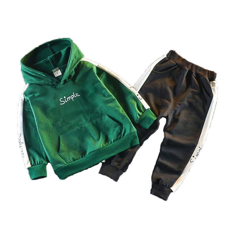 Frühlings-Herbst-Kind-Kleinkind-Baby-Mädchen-Kleidung Hoodies Hosen 2Pcs / set Ausstattungs-Kind-Kind Lässige Kleidung Tracksuits 201026