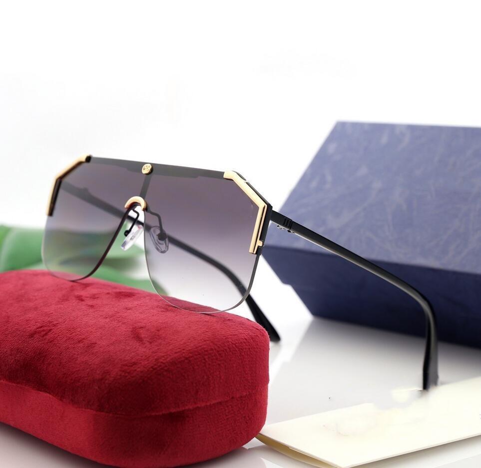 Männliche Sonnenbrille Sonnenbrille Vintage Gute Frauen Metall Mode Männer 2020 Qualität Weibliche Übergroße UV400 KTLFR