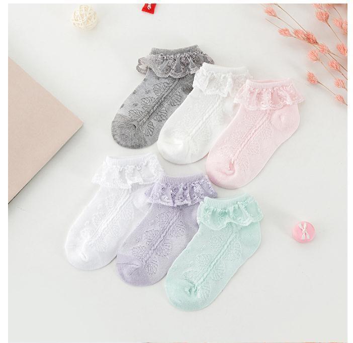 (2020 Ödeme Link) Yenidoğan Çorap 0-2 Yaşında Kız Dantel Prenses Pamuk Bebek Çorap