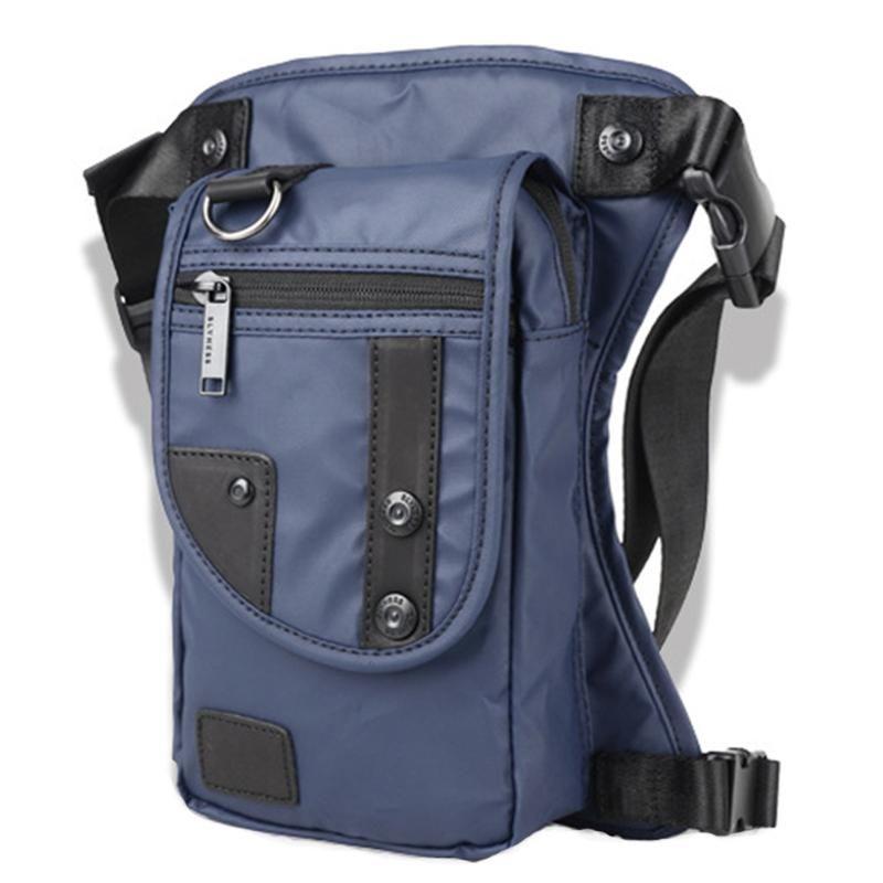 Borse da gamba Borse dell'anca con Pack Cross Messenger Borsa per moto Body Vita Body Waist Impermeabile Cinturino Cintura a spalla Nbagq