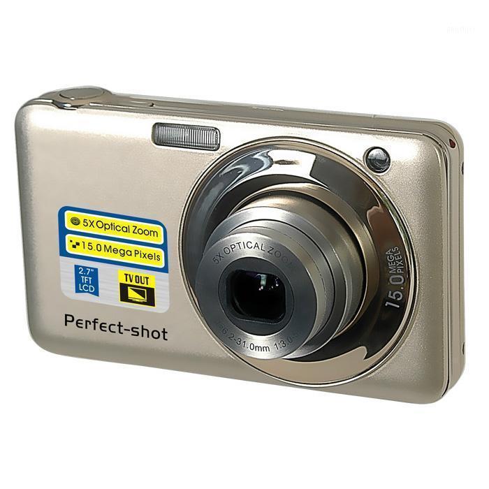 Caméra vidéo numérique Mega Pixels avec 2,7 '' TFT DISPALY ET 5X OPTICAL ZOOM1 Caméras