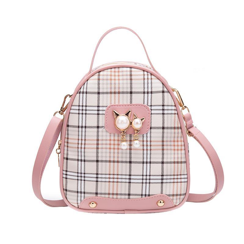 Backpack Browbody Marea Sac à dos coréen pour adolescent NOUVEAU 2020 FILLES FILLES FEMMES MINI PETIT PETIT DE STYLES DE STYLES CENTO VENTO PINSE CVFAD