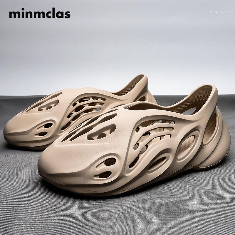 الصنادل الصيف المرأة 2021 شخصية أزياء تنفس لينة عارضة شاطئ المرأة الأحذية السباحة المياه أحذية رياضية man1