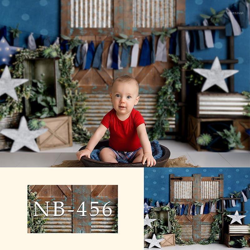 Vinil Fotoğraf Arka Planında Yenidoğan Erkek veya Kız Bokeh Fotoğraf Arkaplan Bebek Duş Süslemeleri Fotocall Background Props1