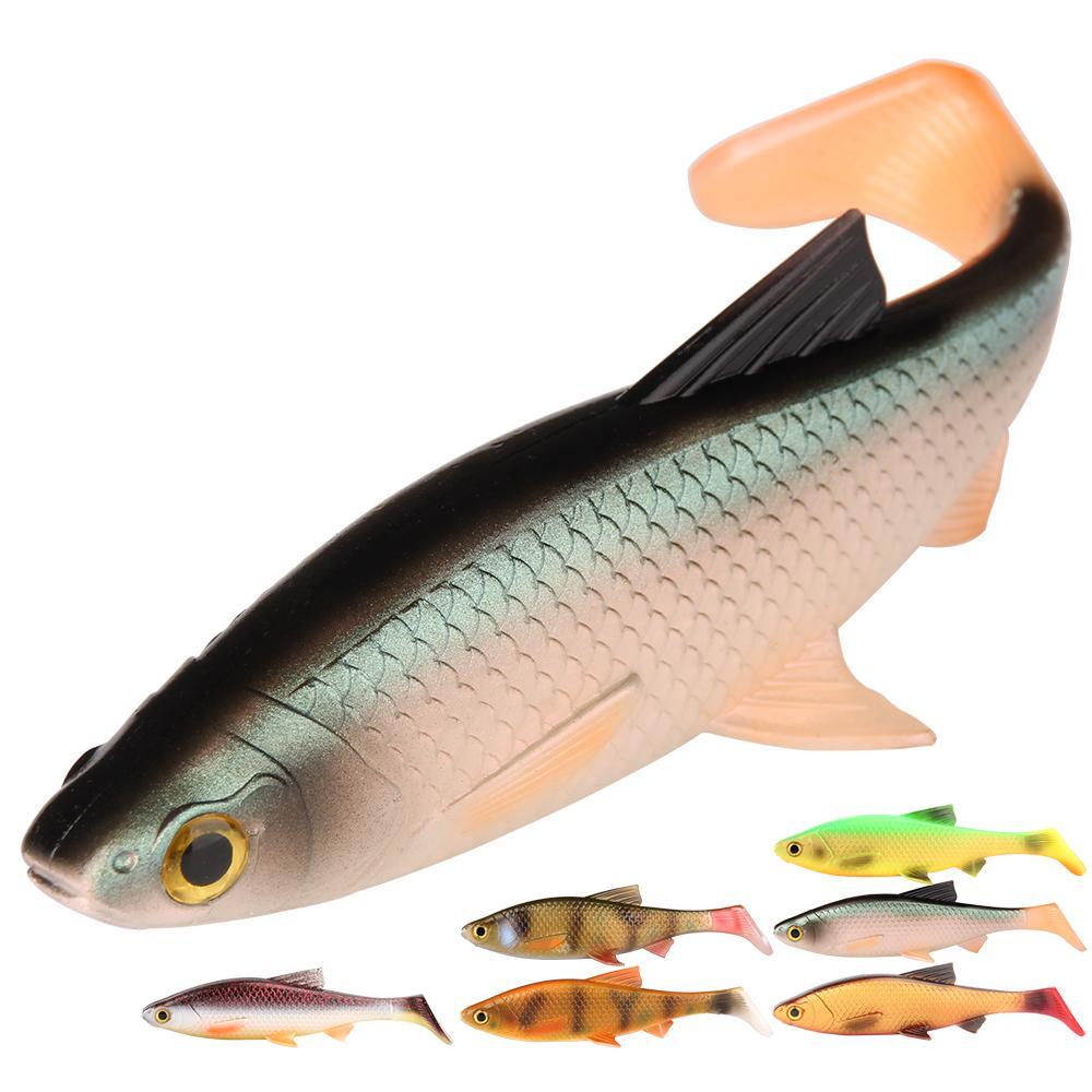 3D Мягкие приманки Рыбалка Рыба 5g 10g 20g 40g силиконового пластик Swimbait Shad воблер использование для буровой установки искусственной приманки рыболовных снастей