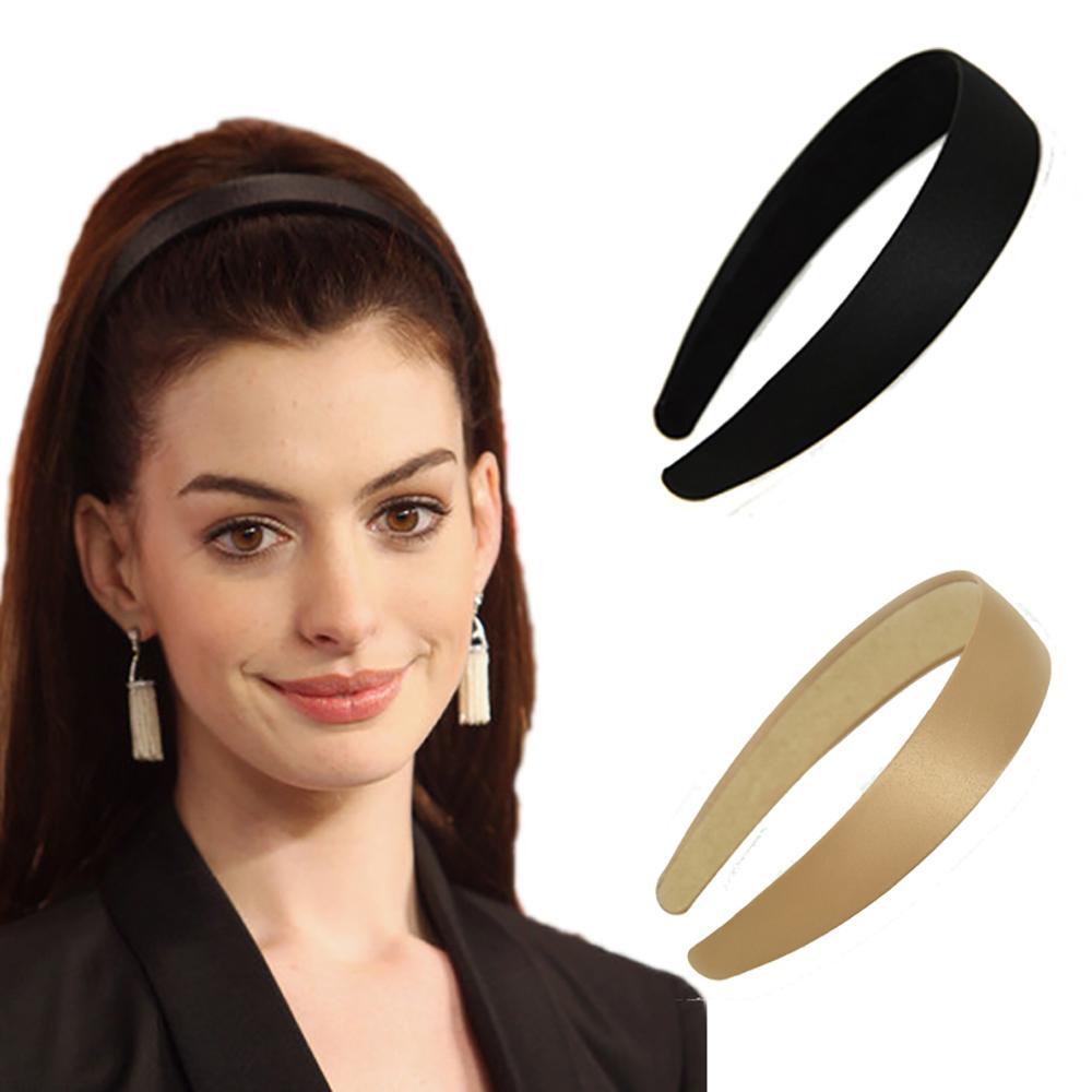 بسيطة 2020 Hairbands المخملية اللون الصلبة الأزياء واسعة الحواف رباطات اكسسوارات للشعر أنيقة للمرأة أغطية الرأس