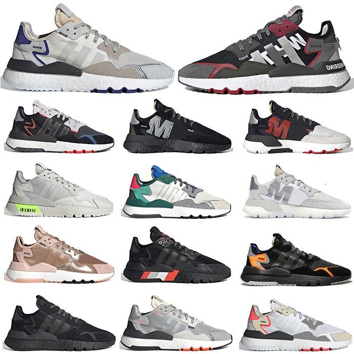 2020 hombres mujeres zapatos de moda nite jogger colegio verde gris voltio 3m negro jogger arruinadores ners zapatillas de deporte 36-45