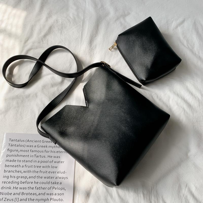 saco de Primavera Mão Satchel bolsa 2020 nova mão simples feminino ombro único Mensageiro Moda couro macio grande saco das mulheres zFuZq