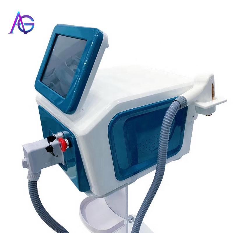 2020 diode laser pour la sécurité de l'épilation sans douleur N ° 808 nm épilation de cheveux permanente 808 nm diode alexandrite laser beauté equi