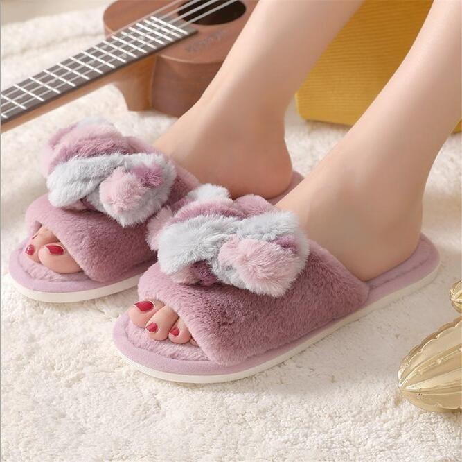Z226,14, хлопок тапочки, женская обувь, мультфильм, домой, не скользит, толстые и теплые, плюшевые тапочки хлопка, оптовая продажа.