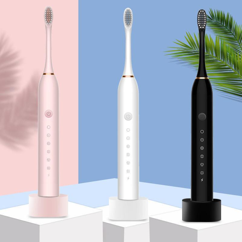 42000 time/min Sonic Electric Toothbrush Upgraded Adult ultrasonic Washable Electronic Brush USB Rechargeable