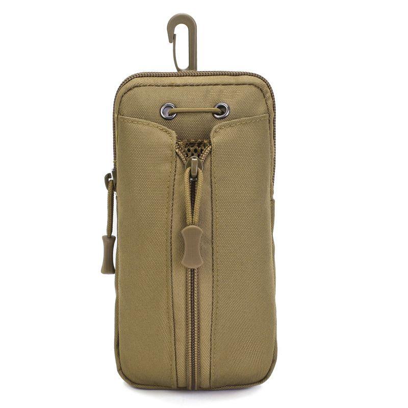 Тактическая сумка талии мини-кошелек карты деньги ключ пакет многофункциональный носить ремень маленькая сумка открытый туристический пакет камуфляжкой сумка Q0109