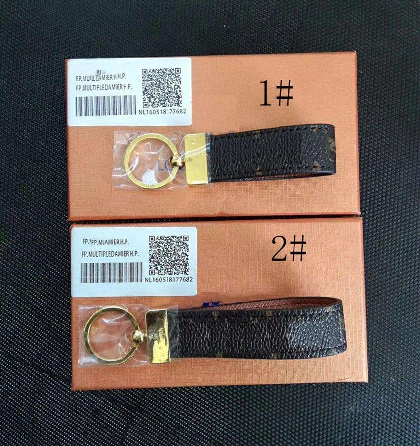 Высокий Qualtiy Keychain Ключевые Цепь Ключ Держатель Ключ Цепной Цепь Портировать Ключ Подарок Мужчины Женщины Автомобильная сумка Брелок с коробкой
