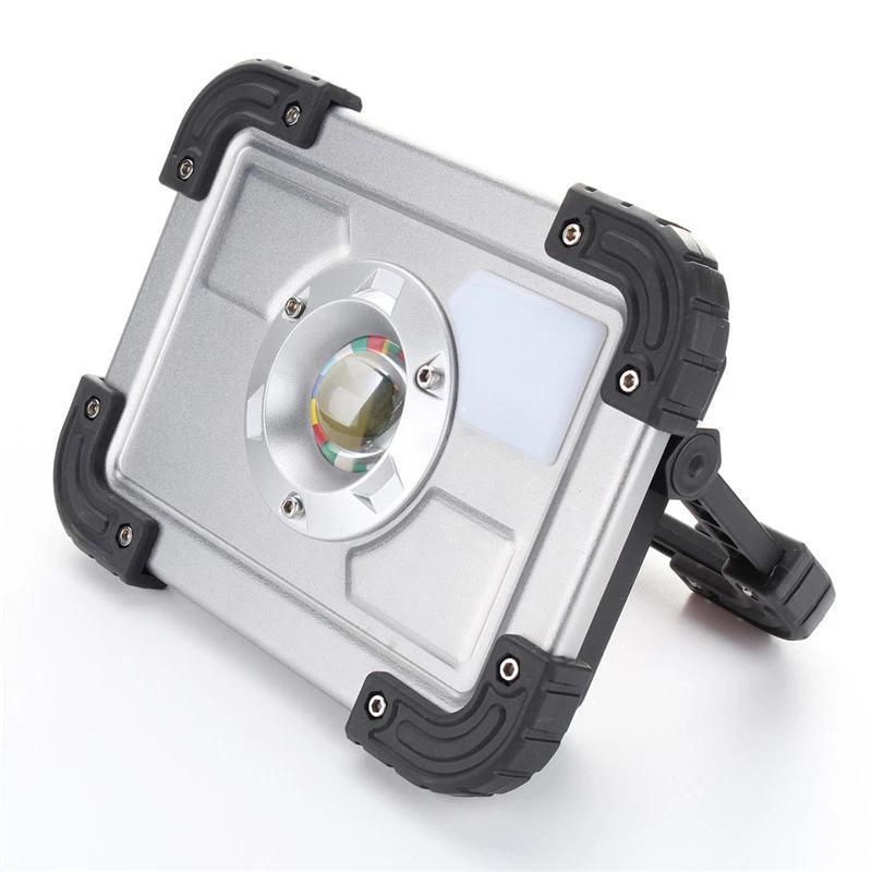 Портативный свет работы Перезаряжаемый прожектор Открытый Кемпинг светильник лужайки Прожектор водонепроницаемый стена -Mounted Индуктивный лампа Jk0656
