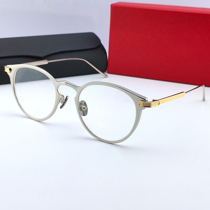 Kadınlar Lüks Şeffaf Gözlük Göz Temizle Cam Gözlük Miyopi Presbiyopi Vintage Reçete Optik Gözlük Çerçeveleri 00210