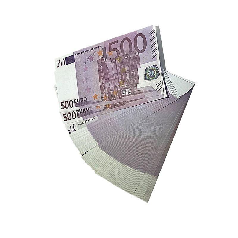 Fabrik Großhandel Banknoten Euro Film Shooting Requisiten Magic Requisiten Kinderspielzeug Geschenke 1: 1 Design Kopieren Euro M1