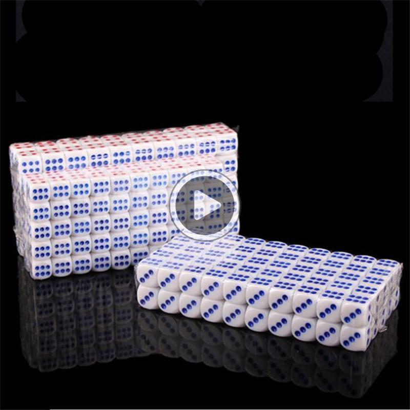 E645 100Pie / Set Point Di acrílico tamiz hendido KTV bar Utensilios Mahjong digital Chromon Cinco 1.06-1.55cm Tamaño Diámetro