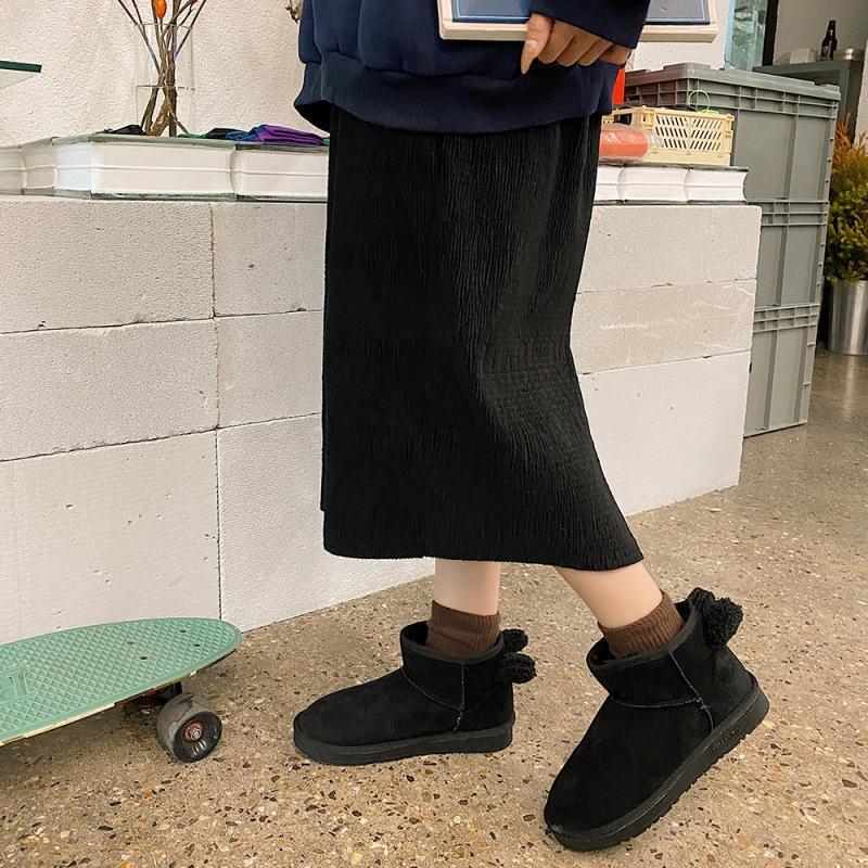 MLWV небольшой большой размер от 32 до 42 до 48 красных патентных кожаных ботинок для каблуки дизайнер высокие женщины над сапогами колена белый черный