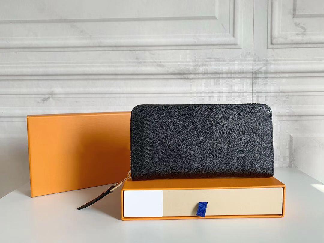 تصميم محفظة إمرأة محفظة محفظة Zippy محفظة إمرأة طويل محافظ طية حامل البطاقة حامل جواز سفر الرجال مطوية المحافظ كوين صور الحقيبة